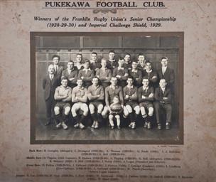 1928-1930 Pukekawa Seniors