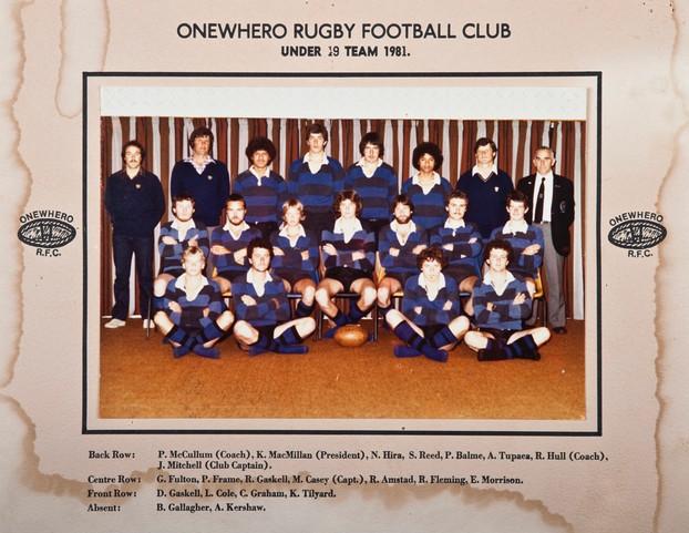 1981 ORFC U19