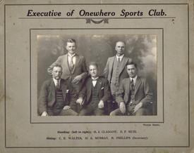 Executive of Onewhero Sports Club