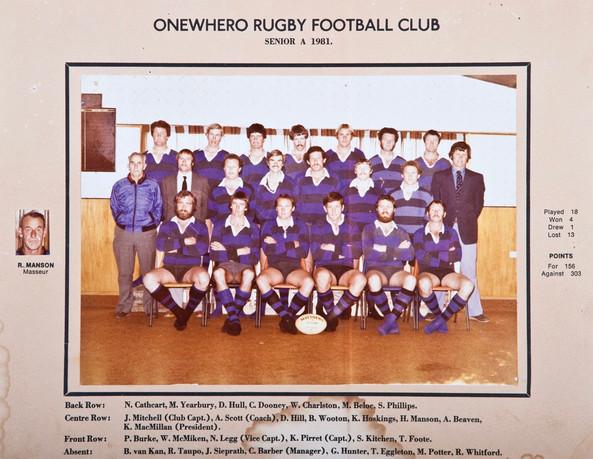 1981 ORFC Senior A