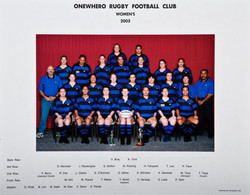 2003 ORFC Womens