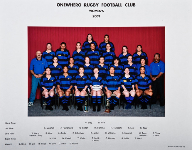 2003 ORFC Womens