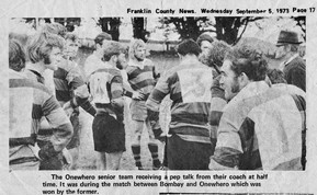 1973 ORFC Seniors v Bombay FCN
