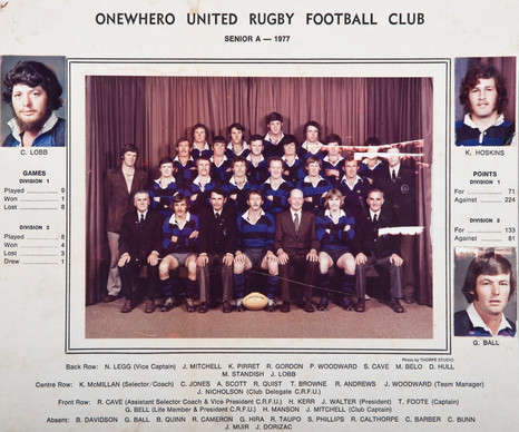 1977 ORFC Senior A