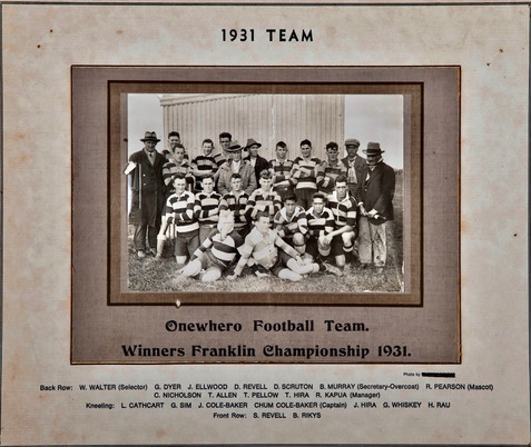 1931 ORFC Seniors