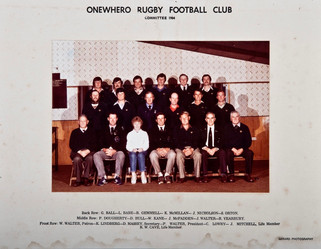 1984 ORFC Committee