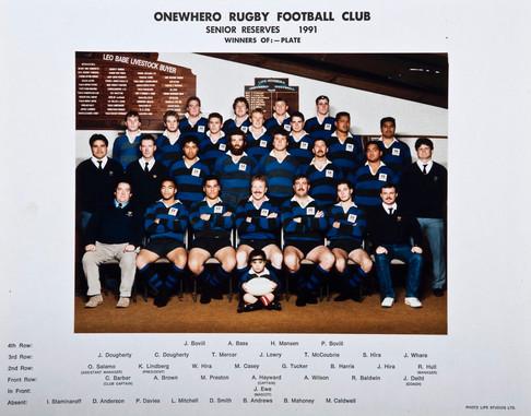 1991 ORFC Senior Reserves