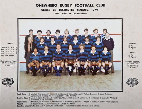 1979 ORFC U23