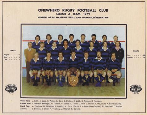 1979 ORFC Senior A