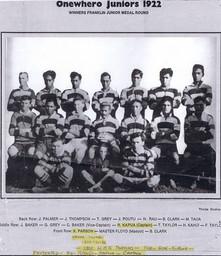 1922 ORFC Juniors