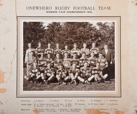 1935 ORFC Seniors
