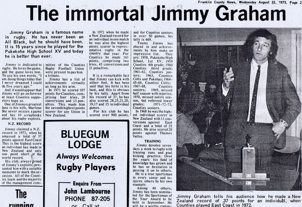 Jimmy Graham 1973