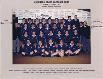 1987 ORFC U19