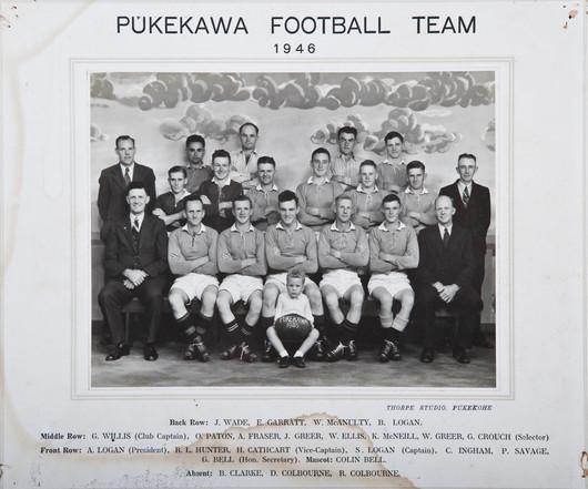 1946 Pukekawa Seniors