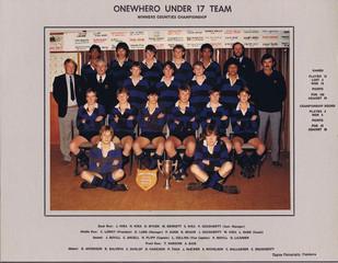 1986 ORFC U17