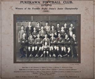 1930 Pukekawa Juniors