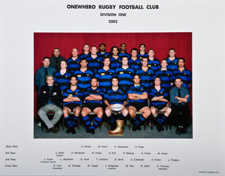 2003 ORFC Division One