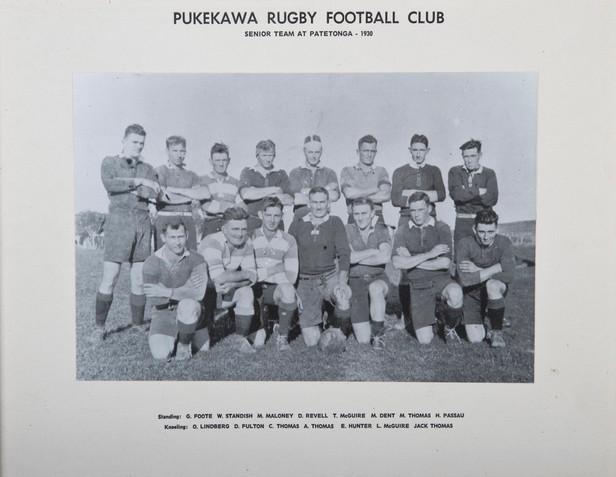 1930 Pukekawa Seniors