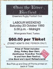 1993 ORFC Bierfest October 23