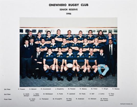 1996 ORFC Senior Reserve