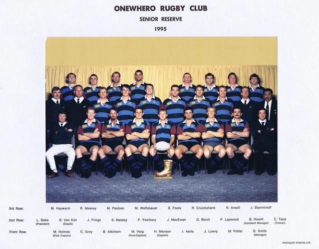 1995 ORFC Senior Reserve 75th