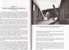 Troop Movements in Franklin 1942