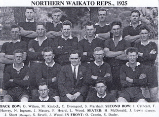 1925 Northern Waikato Reps