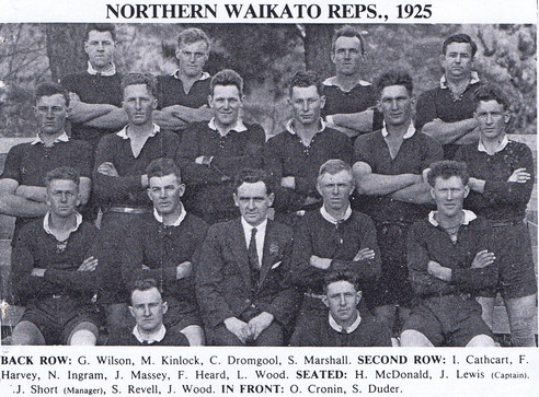 1925 Northen Waikato Reps