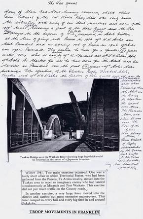 Troop Movements in Franklin 1941