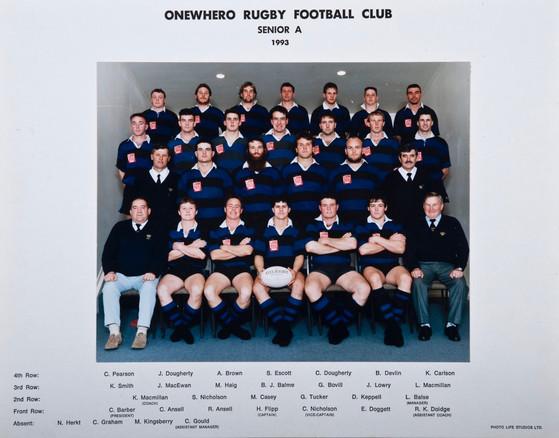 1993 ORFC Senior A