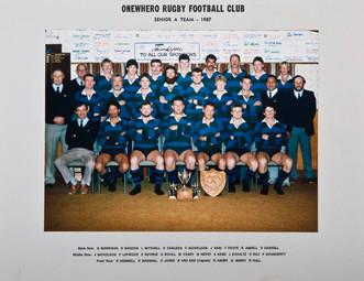 1987 ORFC Senior A