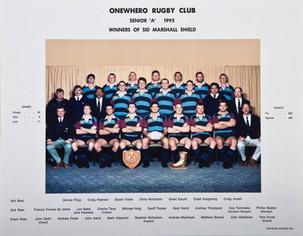 1995 ORFC Senior A 75th