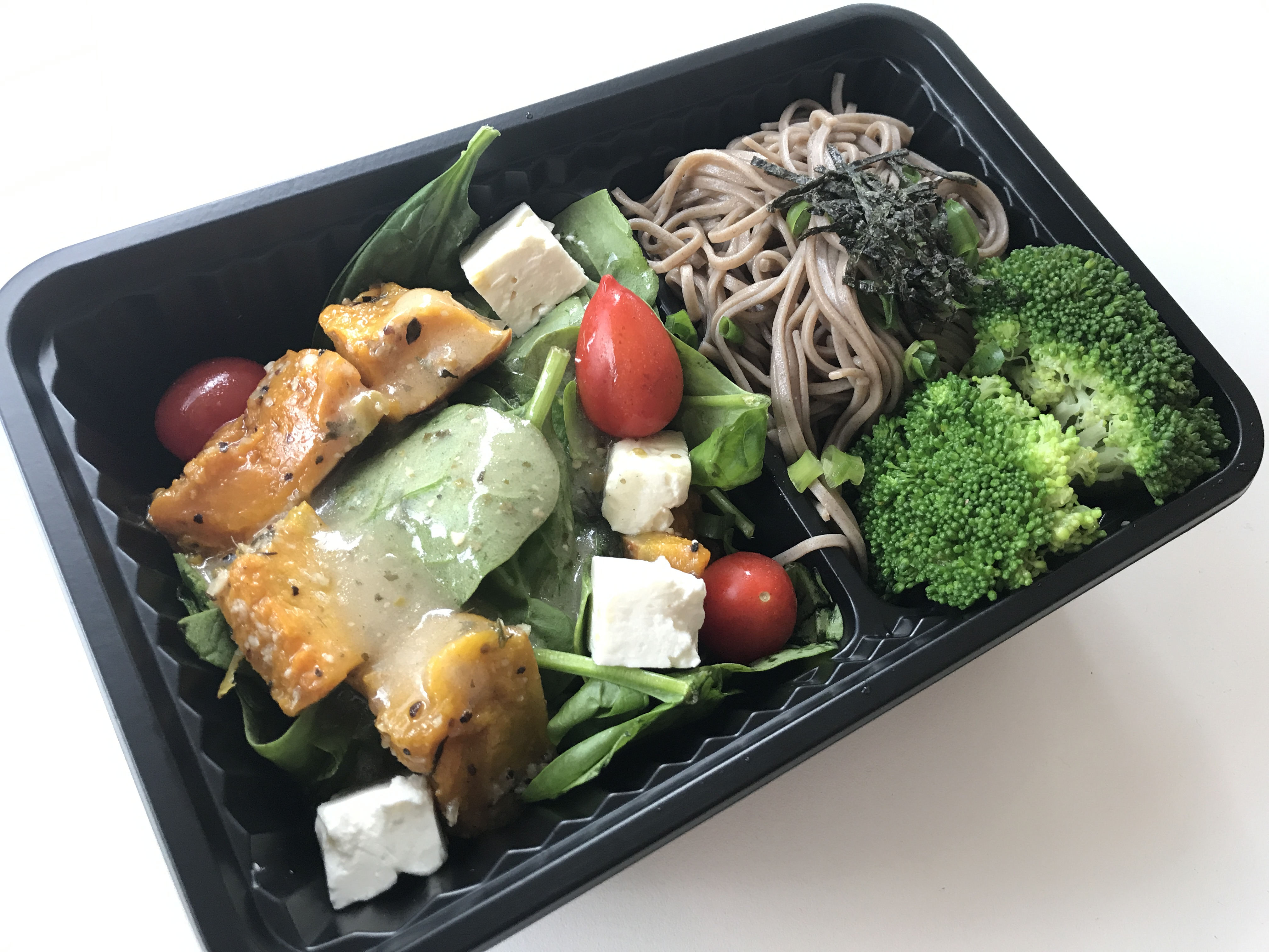 Healthy vegetarian lunch box