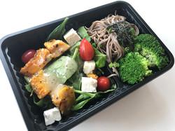 Healthy vegetarian lunch box