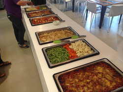 Contract catering for tech firm