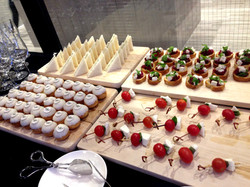 Grand opening catering for golf shop