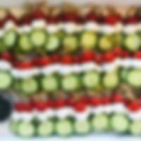 Caprese skewer (mozzarella cherry tomato