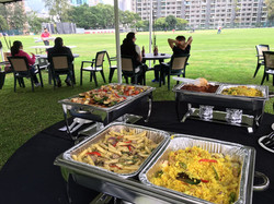 Outside Catering for Cricket Comp