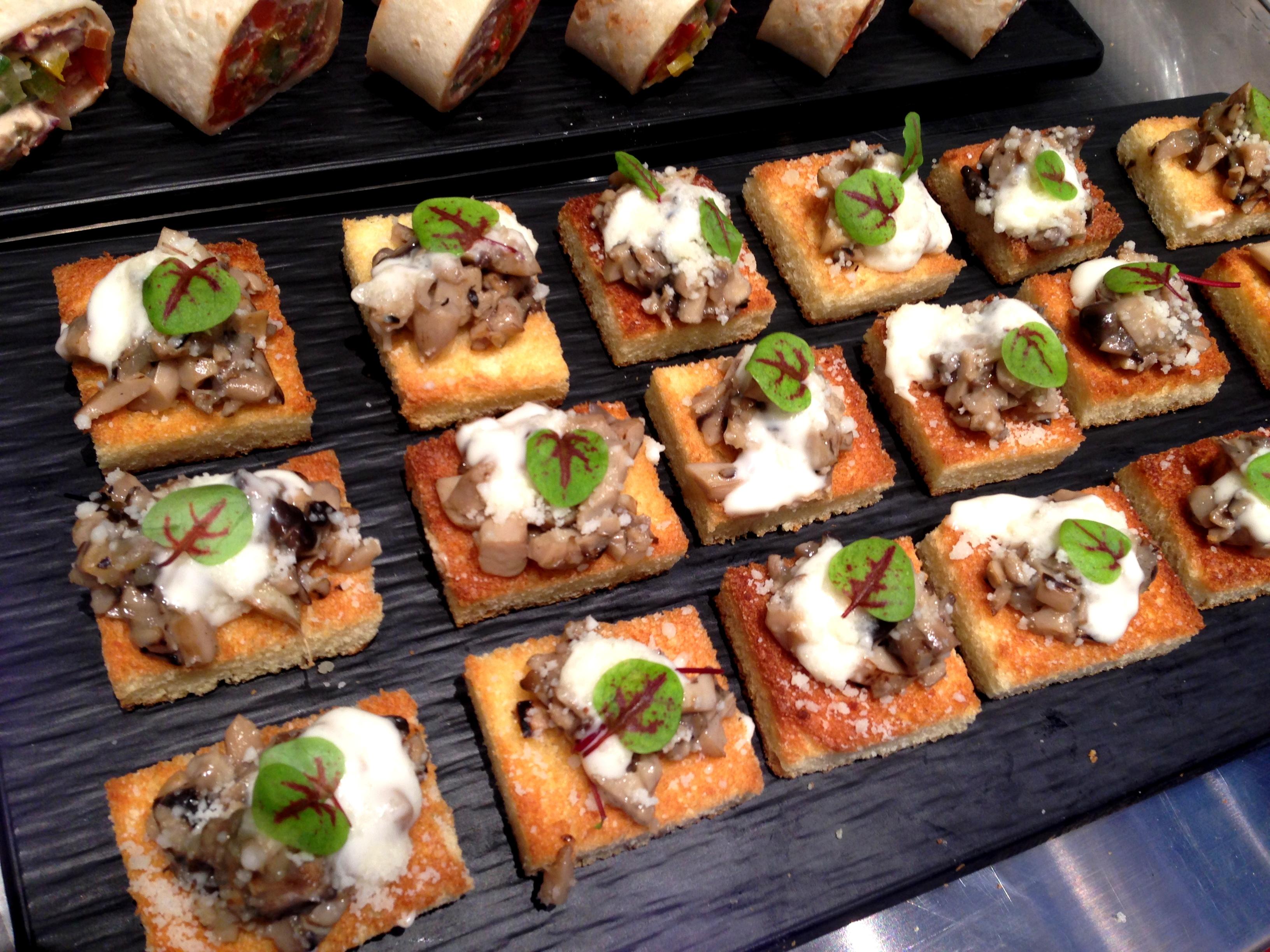 Sauteed Mixed Mushroom Bruschetta