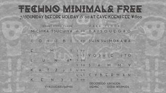 7/15 TECHNO MINIMAL & FREE