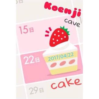 4/22 Koenji cake!
