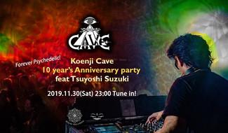 11/30 Koenji Cave 10 Years Anniversary feat. Tsuyoshi Suzuki