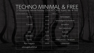 2/10 TECHNO MINIMAL & FREE