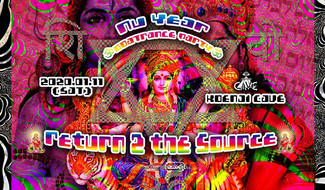 2020/1/11 ゴアトランス新年会 ॐ Nu Year Goa Trance Party 2020 ~Return 2 the Source~