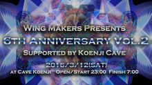 2016/3/12 Wing Makers Presents Supported by Koenji Cave - 6th Anniversary -vol.2-