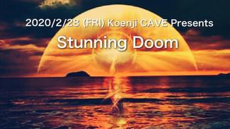 2/28 koenjicave presents * Stunning Doom *
