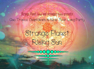 12/31 International Goa Trance Count Down and New year long party!!!