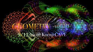 9/13〜GEOMETRY vol.10〜
