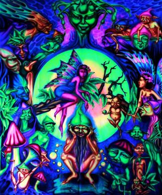 5/27 -The elfin dance-
