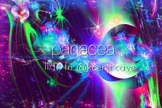 11/1 koenjicave presents * panacea *